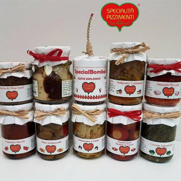 Confezione regalo Antipasti calabresi-0