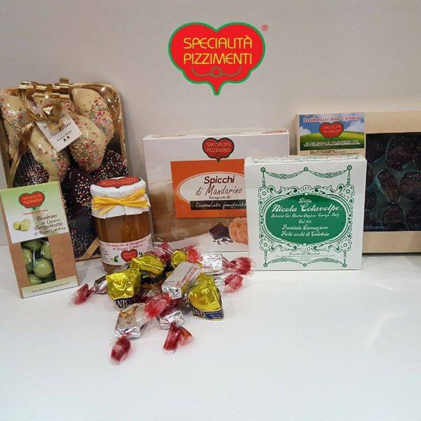 Confezione regalo dolciumi calabresi-0