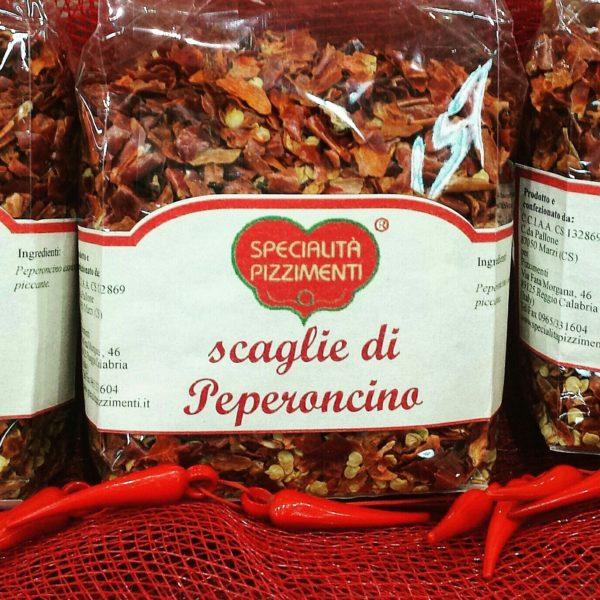 Peperoncino Calabrese piccante a scaglie con seme-0