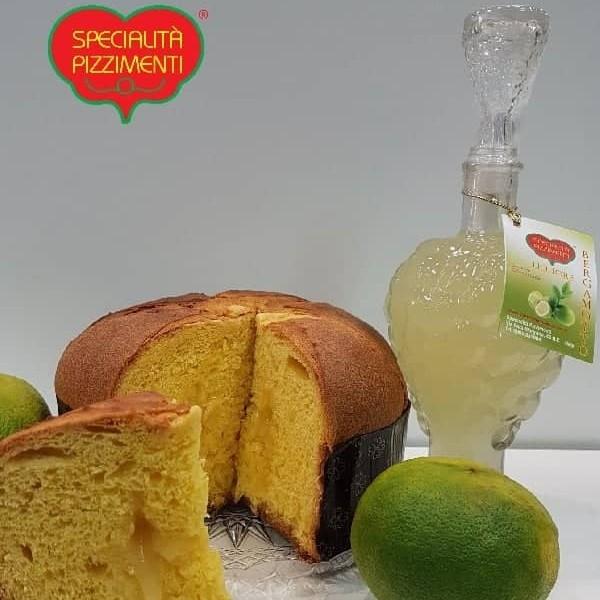 Confezione Regalo Panettone al Bergamotto e liquore-0