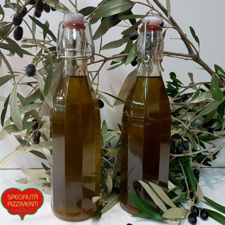 Olio Extra Vergine di Oliva in bottiglia
