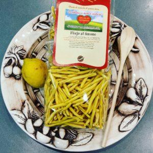 Pasta Fileja al limone