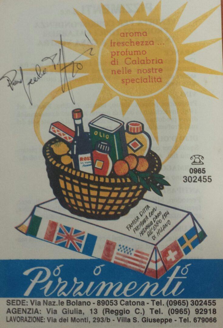Catalogo anni '80
