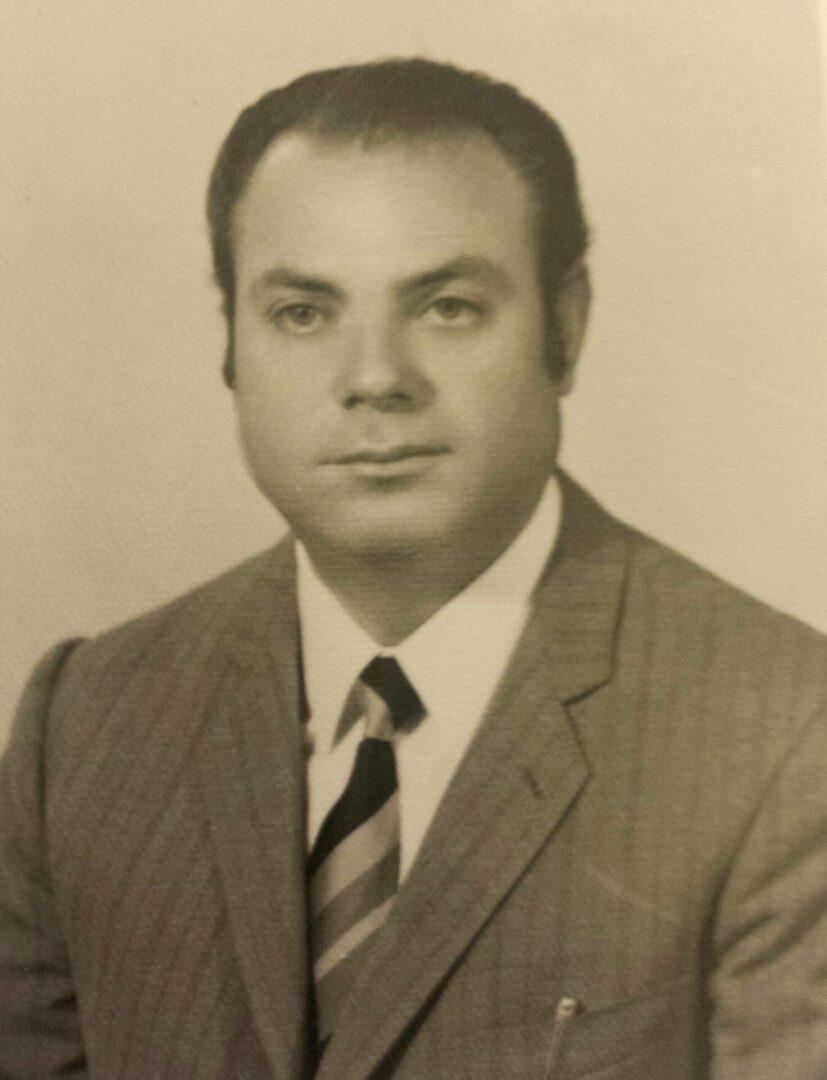 Giuseppe Pizzimenti (foto anni '50)