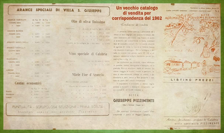 Catalogo di vendita per corrispondenza del 1962