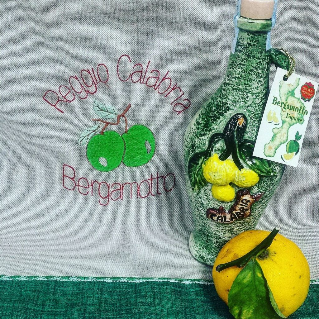 Ceramica artistica Liquore al Bergamotto