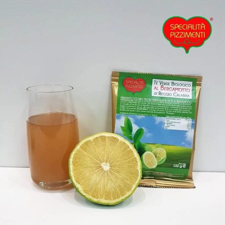 Tè Verde Biologico al Bergamotto