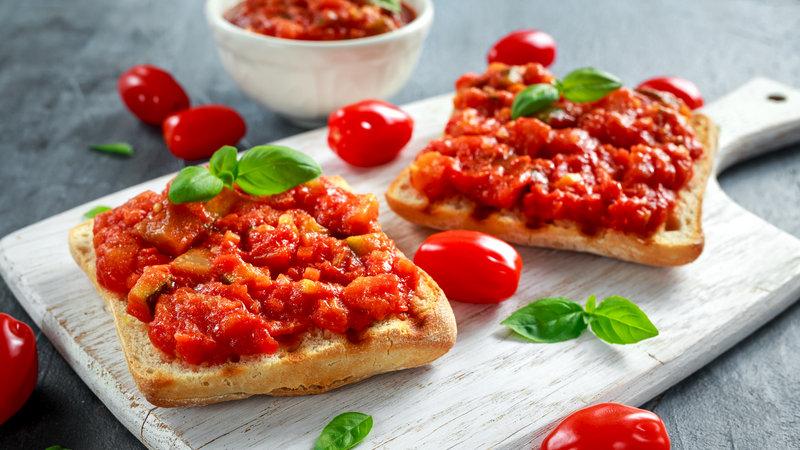Ricetta bruschette pomodori e 'nduja