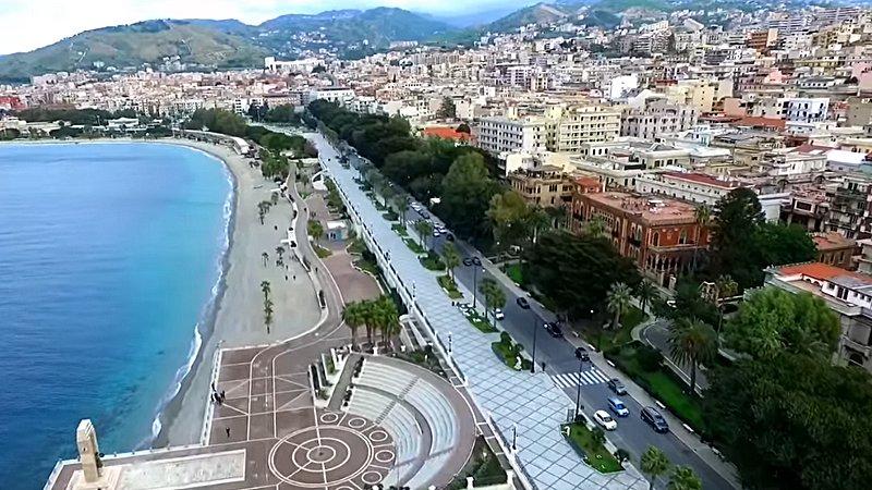 Reggio Calabria vista dal drone: spettacolari riprese aeree