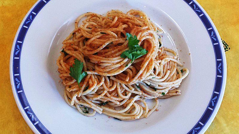 Ricetta Spaghetti con la Bottarga di Tonno