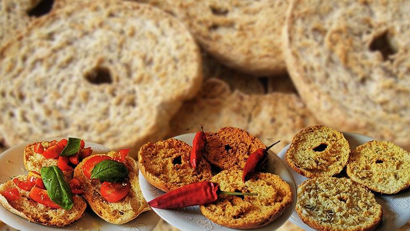 Cover Pane Biscottato e Freselle al Peperoncino e Finocchietto