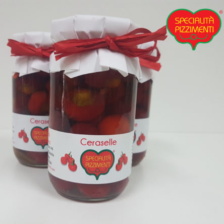 Peperoncini piccanti (Ceraselle) in olio EVO
