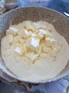 Petrali - Pasta frolla fase iniziale
