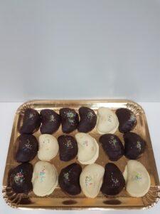 Petrali reggini ricoperti di cioccolato
