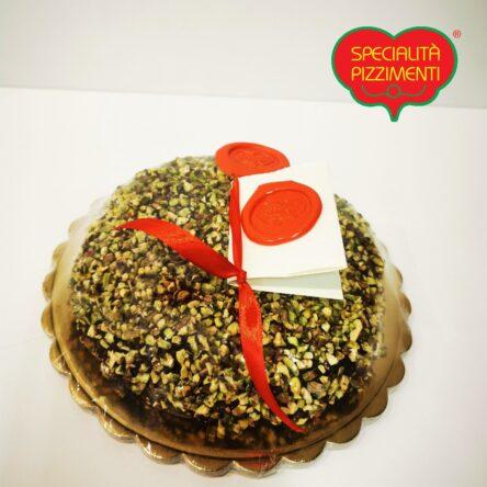 Pitta al Bergamotto ricoperta di cioccolata fondente